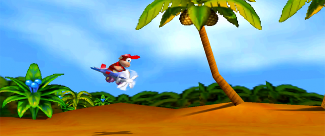 Diddy Kong Racing 64